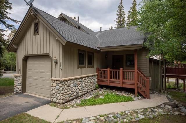 1647 Settlers Drive #20, Breckenridge, CO 80424 (MLS #S1019018) :: Colorado Real Estate Summit County, LLC