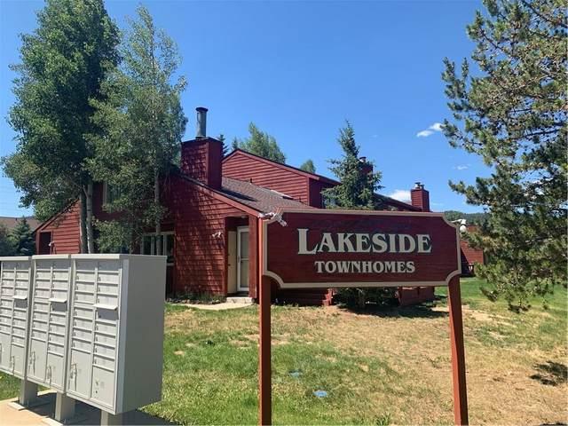 250 Cove Boulevard #8, Dillon, CO 80435 (MLS #S1019493) :: Colorado Real Estate Summit County, LLC