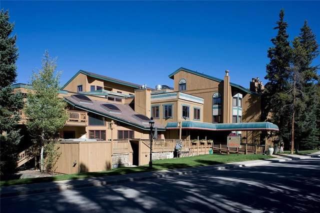 530 S French Street #309, Breckenridge, CO 80424 (MLS #S1020929) :: eXp Realty LLC - Resort eXperts