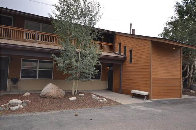 396 Cove Boulevard #12, Dillon, CO 80435 (MLS #S1020983) :: Colorado Real Estate Summit County, LLC