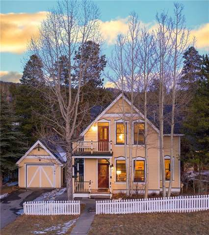 312 N French Street, Breckenridge, CO 80424 (MLS #S1023104) :: Dwell Summit Real Estate