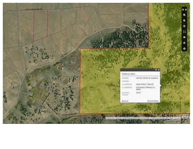 1280 Rocky Mountain Road, Hartsel, CO 80449 (MLS #S1024068) :: Dwell Summit Real Estate