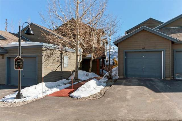 66 Spyglass Lane #66, Silverthorne, CO 80498 (MLS #S1024519) :: Colorado Real Estate Summit County, LLC