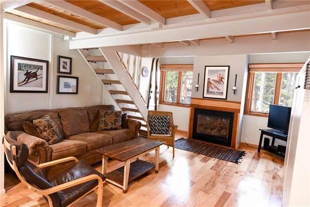 205 Primrose Path #4, Breckenridge, CO 80424 (MLS #S1025945) :: Dwell Summit Real Estate