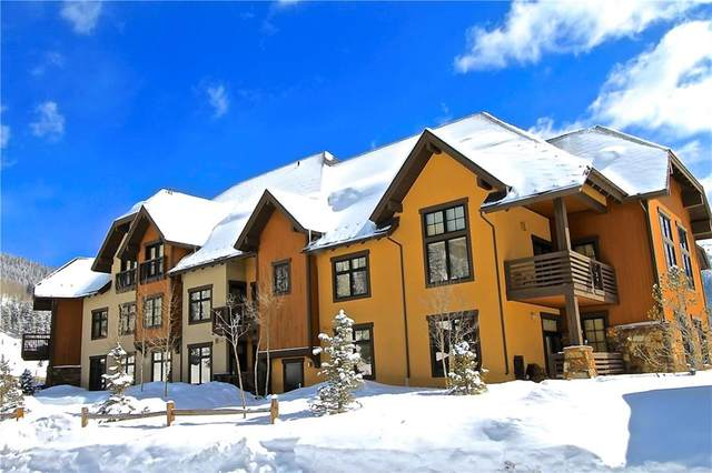 172 Beeler Place 118 D, Copper Mountain, CO 80443 (MLS #S1026276) :: Colorado Real Estate Summit County, LLC