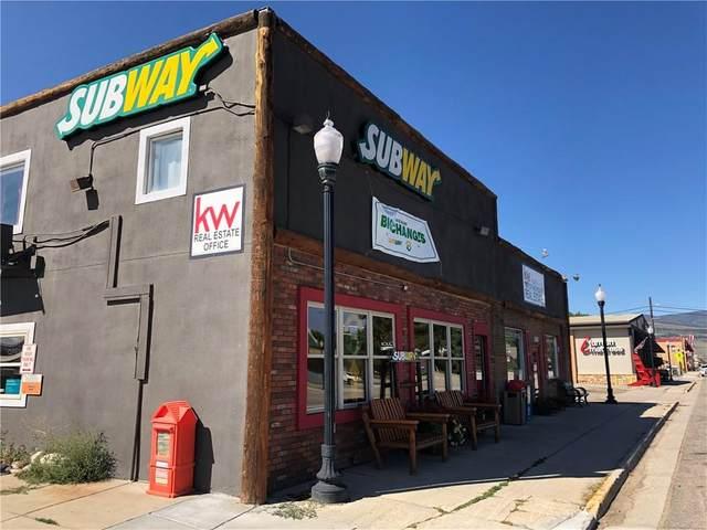 310 Us Hwy 40 #1, Kremmling, CO 80459 (MLS #S1030779) :: Colorado Real Estate Summit County, LLC