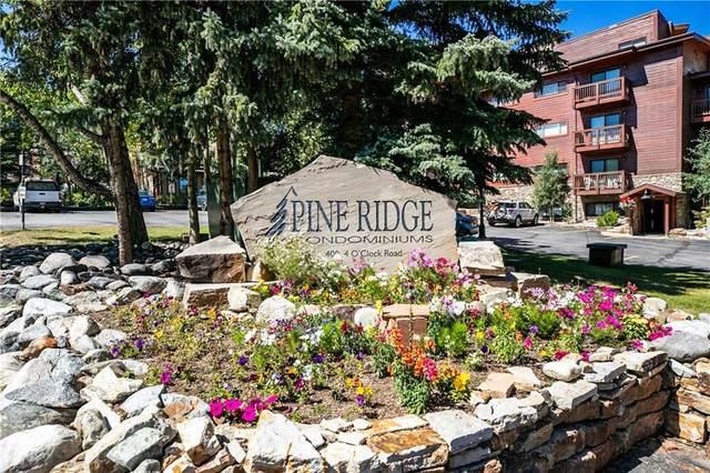 400 Four Oclock Road 7A, Breckenridge, CO 80424 (MLS #S1031044) :: eXp Realty LLC - Resort eXperts