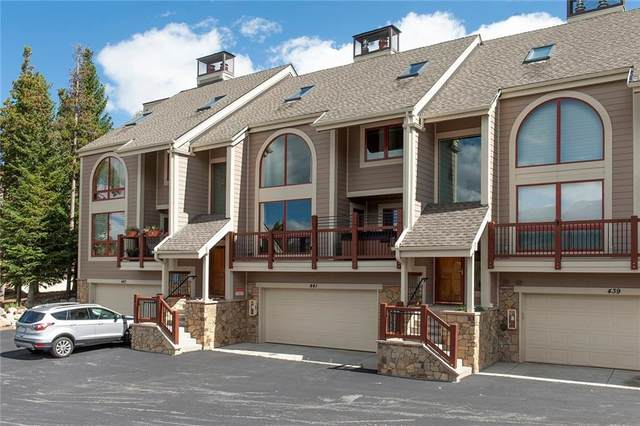 441 White Cloud Drive #441, Breckenridge, CO 80424 (MLS #S1031117) :: Clare Day with Keller Williams Advantage Realty LLC