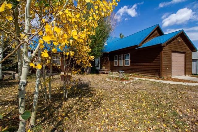 111 Spruce Drive, Kremmling, CO 80459 (MLS #S1031142) :: Colorado Real Estate Summit County, LLC