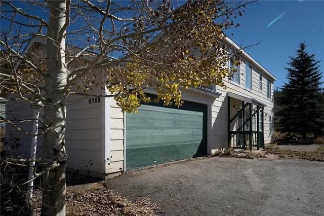 508 Alpine Road, Dillon, CO 80435 (MLS #S1031409) :: Colorado Real Estate Summit County, LLC