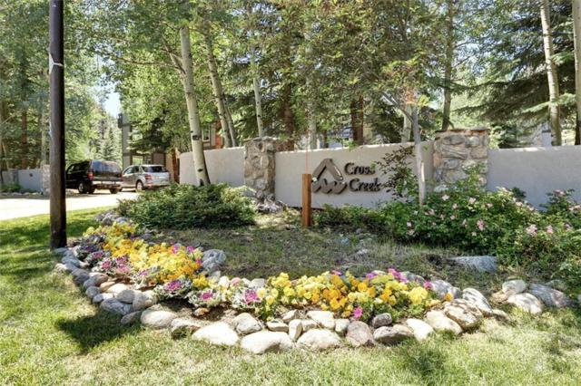 233 Creekside Drive #106, Frisco, CO 80443 (MLS #S1006517) :: Colorado Real Estate Summit County, LLC