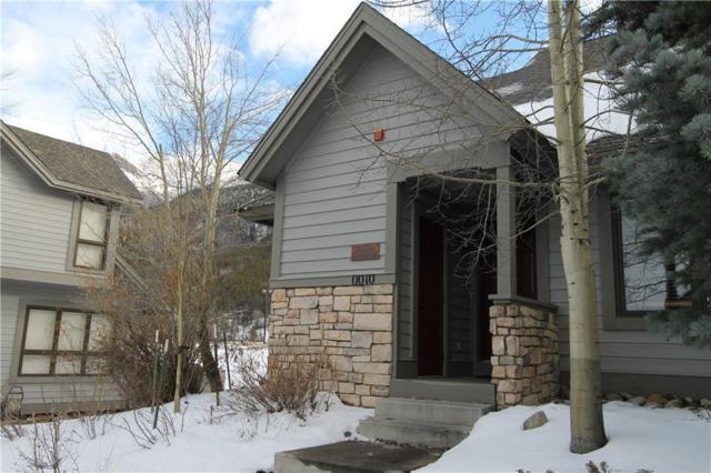 10 Fairway Lane #24, Copper Mountain, CO 80443 (MLS #S1006808) :: Resort Real Estate Experts
