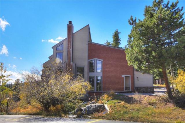 885 Four Oclock Road, Breckenridge, CO 80424 (MLS #S1006950) :: The Smits Team Real Estate