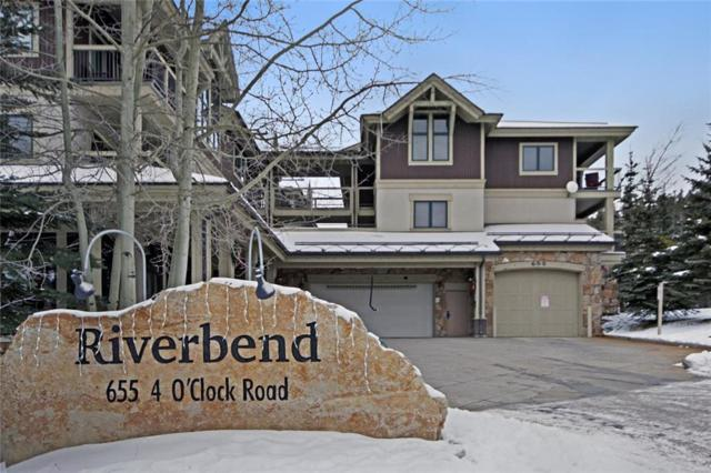 655 Four Oclock Road #214, Breckenridge, CO 80424 (MLS #S1007966) :: Resort Real Estate Experts