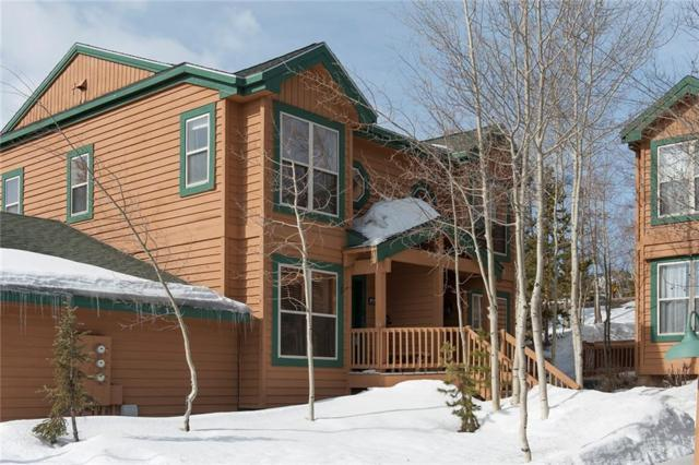 101 Saddle Ridge Drive #101, Silverthorne, CO 80498 (MLS #S1008444) :: Colorado Real Estate Summit County, LLC