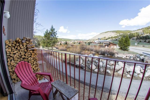 35 Wheeler Place #101, Copper Mountain, CO 80443 (MLS #S1008952) :: Colorado Real Estate Summit County, LLC
