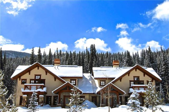 124 Beeler Place 124A, Copper Mountain, CO 80443 (MLS #S1010729) :: Colorado Real Estate Summit County, LLC