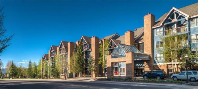 100 S Park Avenue #321, Breckenridge, CO 80424 (MLS #S1011595) :: Colorado Real Estate Summit County, LLC