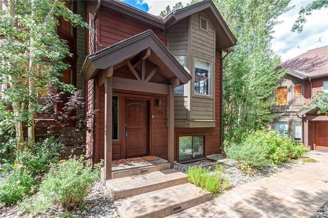 106 Village Point Drive #106, Breckenridge, CO 80424 (MLS #S1015296) :: Colorado Real Estate Summit County, LLC