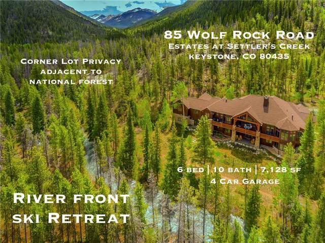 85 Wolf Rock Road, Keystone, CO 80435 (MLS #S1018724) :: Colorado Real Estate Summit County, LLC