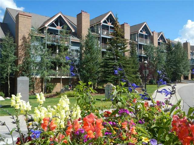 100 S Park Ave W-322, Breckenridge, CO 80424 (MLS #S1019074) :: Dwell Summit Real Estate