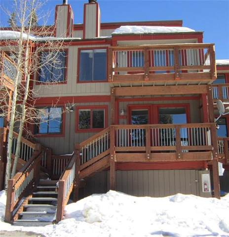 112 Illinois Gulch Road #6, Breckenridge, CO 80424 (MLS #S1022926) :: Dwell Summit Real Estate