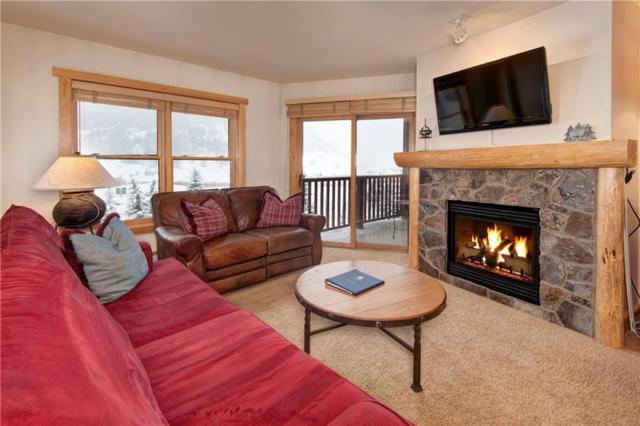 105 Wheeler Circle #315, Copper Mountain, CO 80443 (MLS #S1011912) :: Colorado Real Estate Summit County, LLC