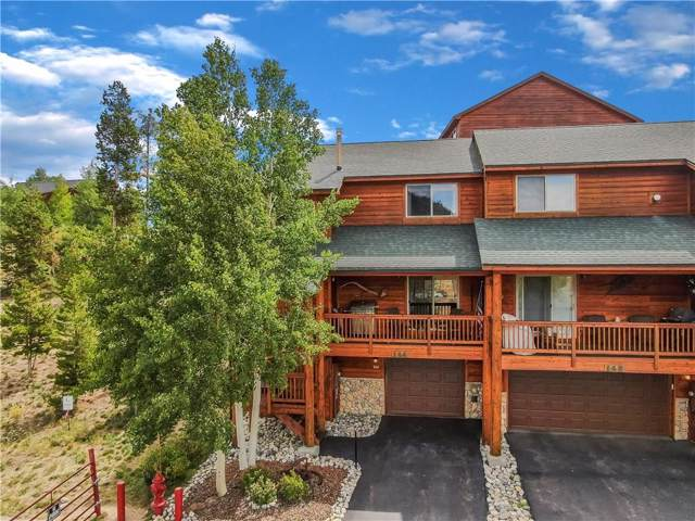 144 Lookout Ridge Drive #144, Dillon, CO 80435 (MLS #S1014990) :: Colorado Real Estate Summit County, LLC