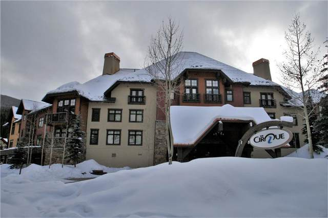 172 Beeler Place #216, Copper Mountain, CO 80443 (MLS #S1022838) :: Colorado Real Estate Summit County, LLC