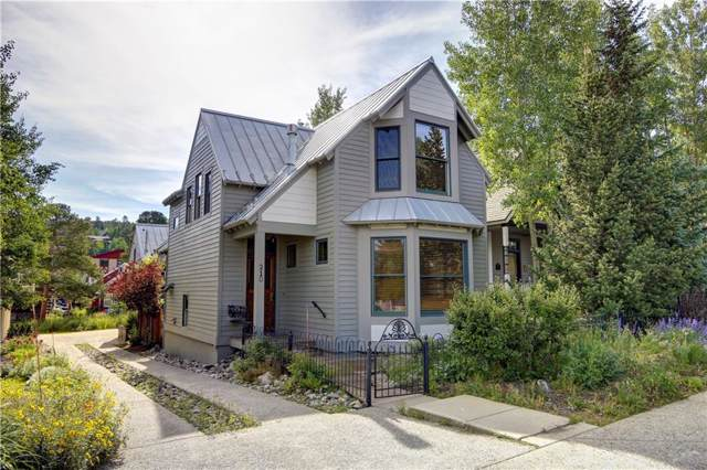 210 S French Street S, Breckenridge, CO 80424 (MLS #S1011847) :: Dwell Summit Real Estate