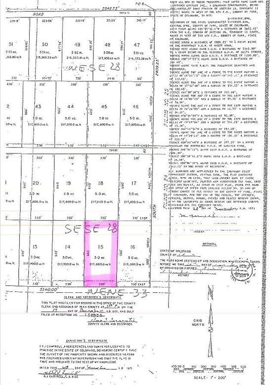 5933 Routt Road, Hartsel, CO 80449 (MLS #S1008519) :: Colorado Real Estate Summit County, LLC