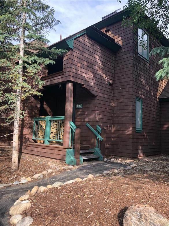 402 Wild Irishman Road #1917, Keystone, CO 80435 (MLS #S1027743) :: Colorado Real Estate Summit County, LLC