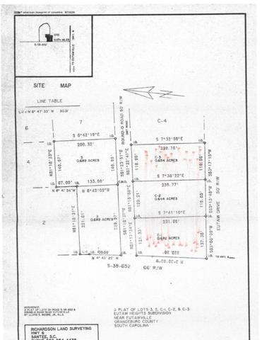 LOT #1,2 Round O Road, Eutawville, SC 29048 (MLS #137088) :: The Litchfield Company