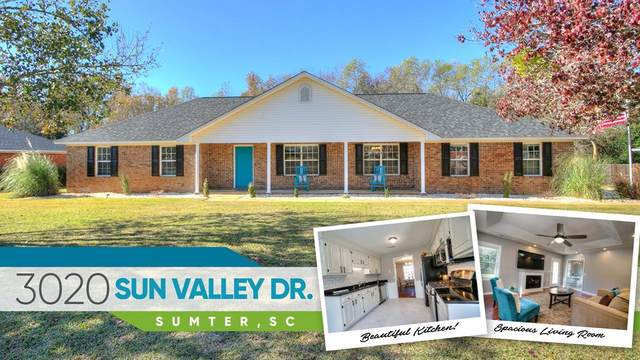 3020 Sun Valley Dr, Sumter, SC 29154 (MLS #145846) :: Gaymon Realty Group