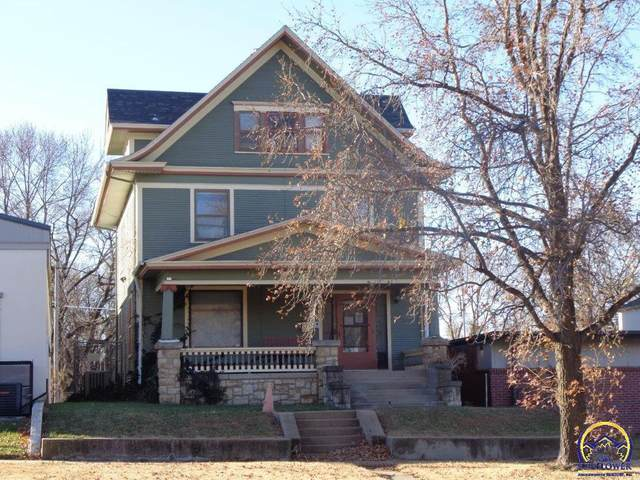 817 SW 6th Ave, Topeka, KS 66603 (MLS #216227) :: Stone & Story Real Estate Group
