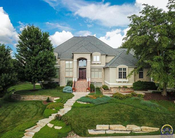 5908 SW Clarion Lakes Way, Topeka, KS 66610 (MLS #216651) :: Stone & Story Real Estate Group