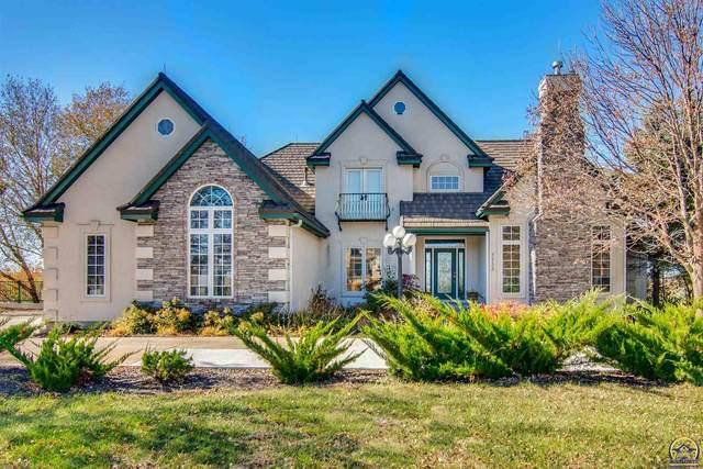 3733 SW Cobblestone Pl, Topeka, KS 66610 (MLS #216916) :: Stone & Story Real Estate Group