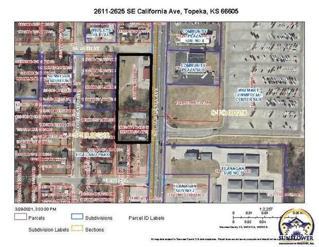 2611 SE California Ave, Topeka, KS 66605 (MLS #217854) :: Stone & Story Real Estate Group