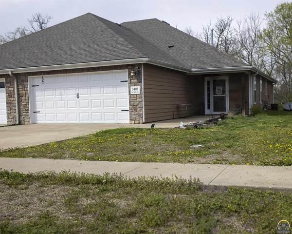 3402 SE Taurus Ave, Topeka, KS 66605 (MLS #217861) :: Stone & Story Real Estate Group