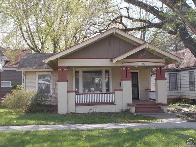 406 SW Western Ave, Topeka, KS 66606 (MLS #218092) :: Stone & Story Real Estate Group
