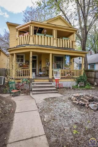 413 SW Polk St, Topeka, KS 66603 (MLS #218136) :: Stone & Story Real Estate Group
