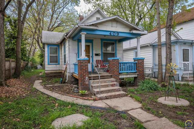 409 SW Polk St, Topeka, KS 66603 (MLS #218252) :: Stone & Story Real Estate Group