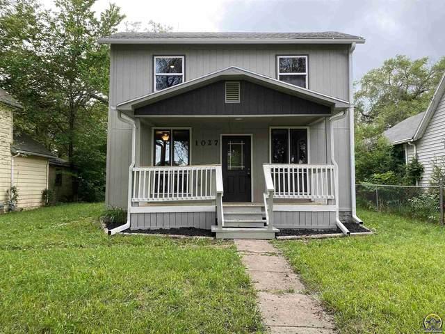 1027 SW Woodward Ave, Topeka, KS 66604 (MLS #218657) :: Stone & Story Real Estate Group