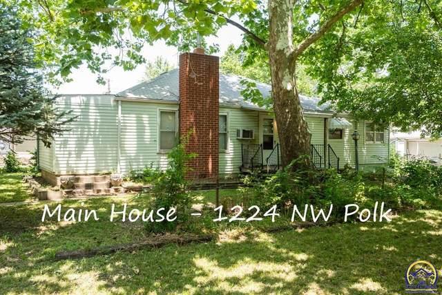 1224 NW Polk St, Topeka, KS 66608 (MLS #219092) :: Stone & Story Real Estate Group
