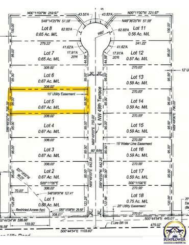 Lot 5 NW 49th Ter, Topeka, KS 66618 (MLS #219613) :: Stone & Story Real Estate Group