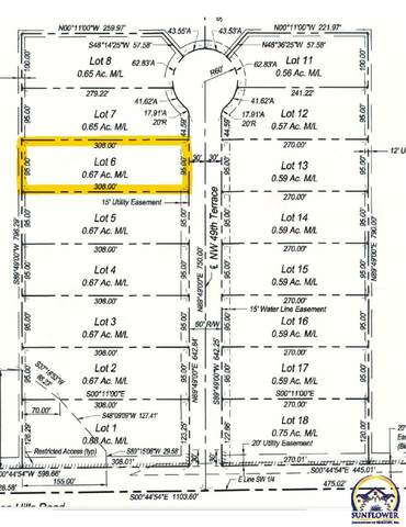 Lot 6 NW 49th Ter, Topeka, KS 66618 (MLS #219614) :: Stone & Story Real Estate Group