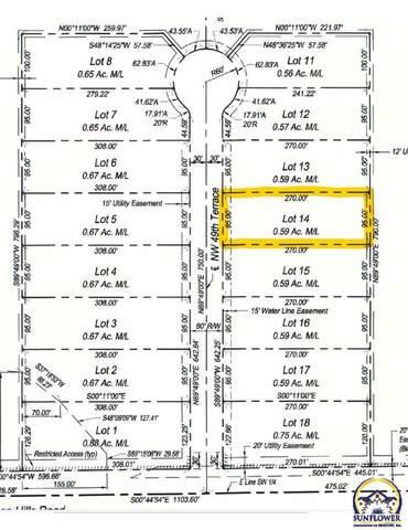 Lot 14 NW 49th Ter, Topeka, KS 66618 (MLS #219615) :: Stone & Story Real Estate Group