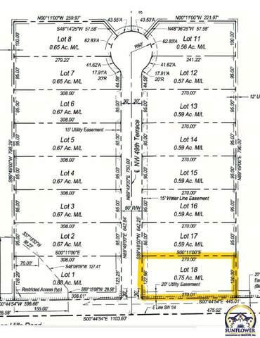 Lot 18 NW 49th Ter, Topeka, KS 66618 (MLS #219619) :: Stone & Story Real Estate Group