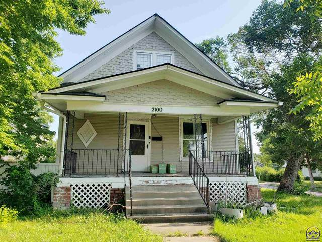 2100 SW 10th Ave, Topeka, KS 66604 (MLS #219668) :: Stone & Story Real Estate Group