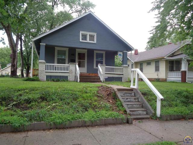219 SW Kendall Ave, Topeka, KS 66606 (MLS #219670) :: Stone & Story Real Estate Group